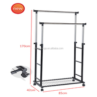 stainless steel and metal indoor cFoldable Coat Hanger,clothes airer