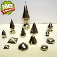Custom andWholesale all kinds of durable metal spike studs
