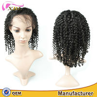 aliexpress brazilian hair human lace front wig wholesale wig from china short curly wig for black women