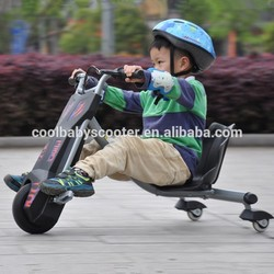 7 years manufacturer experience Electric Drift Trike 360 kids plastic 2 wheel self balancing electric vehicle