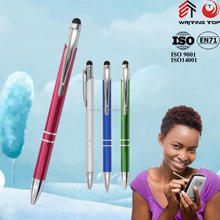 Promotional touch metal ballpoint pen with logo
