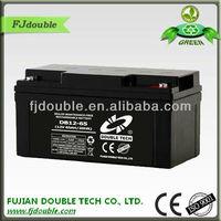 non-leak home ups battery 12v 65ah for high efficient UPS