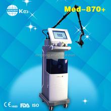 2015 kes CO2 fractional laser MED-870+ machine skin rejuvenation hand switch instrumentation