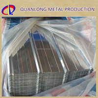 CR Hot Dipped Galvanized Corrugated Lightweight Roofing Materials