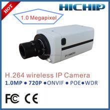 Max 32G SD Card Cmos P2P Network Camera,1 MP 1280*720Pixels WDR low illumination POE IP Camera