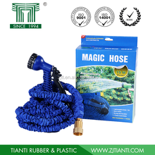 New Magic Expandable Hose Pipe Garden Water Hose with Brass Fitting Retractable garden hose with Spray Gun