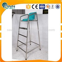 stainless steel 304#/306# tennis umpire chair for sport games