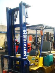 Diesel Engine used 3 ton forklift, Mitsubishi 3 ton cheap sale in China