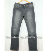 grey denim jeans brand logo denim jeans