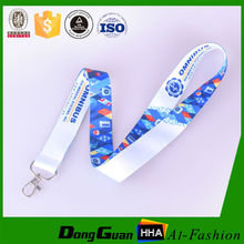 New design polyester sublimation printed corporate lanyards with free samples