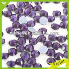 5A Schwan hot fix crystal bead rhinestone violet