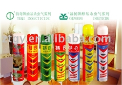 household aerosol insecticide spray pest control insecticde
