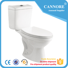 Siphonic Two Piece Toilet Bowl For Bathroom