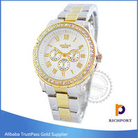 Wholesale Cheap Rhinestone Alloy Geneva watch