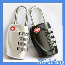 Hogift Alloy Swiss Cross Symbol Combination Code Number Lock/Padlock for Luggage/Zipper Bag Backpack