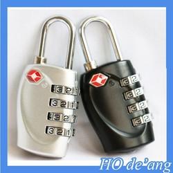 Hogift Alloy Swiss Cross Symbol Combination Code Number Lock/Padlock for Luggage/Zipper Bag Backpack