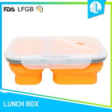 Wholesale home useful food storage silicon rubber container