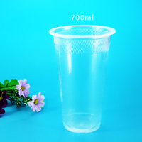 20oz 24oz custom transparent big plastic cup
