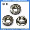 alibaba top quality steel hex female flange screw