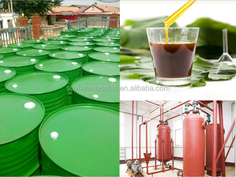 Liquid soy lecithin growth promoters for poultry