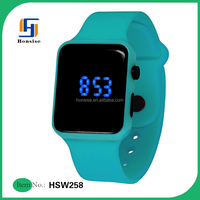 New Products Candy Color Silicone LED Watch