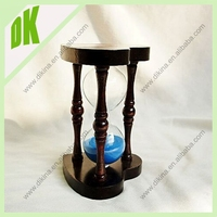 HOURGLASS make a truly personal connection to a hometown,career,hobby, pet, car, etc.... wholesale custom toys plastic hourglass