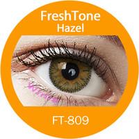 wholesale cheap color contacts freshtone impressions look Hazel circle soft lens korea