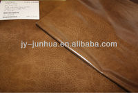leatheroid faux leather Fire Retardant anti-hydrolysis Pu leather used for upholstery sofa chairs with good quality leatherette