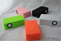 (Factory Supply) Stereo Mini Induction Speaker, Portable Magic Speaker, Handsfree Wireless Speaker for Smartphone