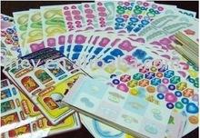 Toy color labels