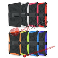 Basketball Pattern 2 In 1 Detachable PC+TPU Hybrid Stand Case for iPad 5/for iPad Air