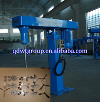mechanical lift variable speed dispersion machine