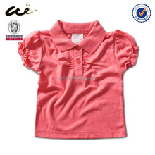 2014 cheap newest price baby 50% cotton 50% polyester t-shirts for baby
