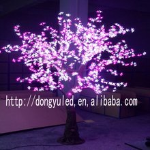 Height 1.8m diameter 1.6m outdoor rgb change color led tree LED simulation cherry tree for new holiday decoration