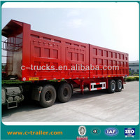 Cargo box semi traielr transport for cargo and electronic appliances