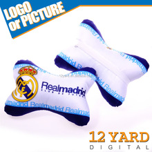 Football team car seat back pillow, car and home driver car seat cushion, head neck rest pillow GY-10