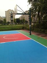 anti slipping sport court plastic tiles flooring foe basketball use