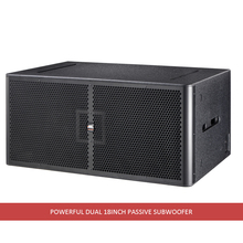 Factory supply professional Stage Subwoofer , dual 18inch subwoofer
