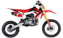 DIRT BIKE GOOD MOTORCYCLES RED COLOR CHINA 125CC 140CC 150CC 160CC