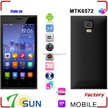 MTK6572 P500 5.0 inch Android 4.2 Touch Screen Smartphone AT&T WCDMA 4GB ROM android phone unlock