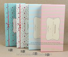 small beautiful scarves gift paper box