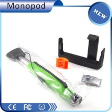2015 new model handheld portable volume key cable monopod selfie stick wholesale designed for iPhone rear camera