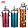CP-H2 350ML 500ML military canteen water bottle sports stainless steel water spout