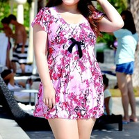 High Quality Super Large 3XL-6XL Sexy Swimsuit One Pieces Summer Dress dress designs fat ladies