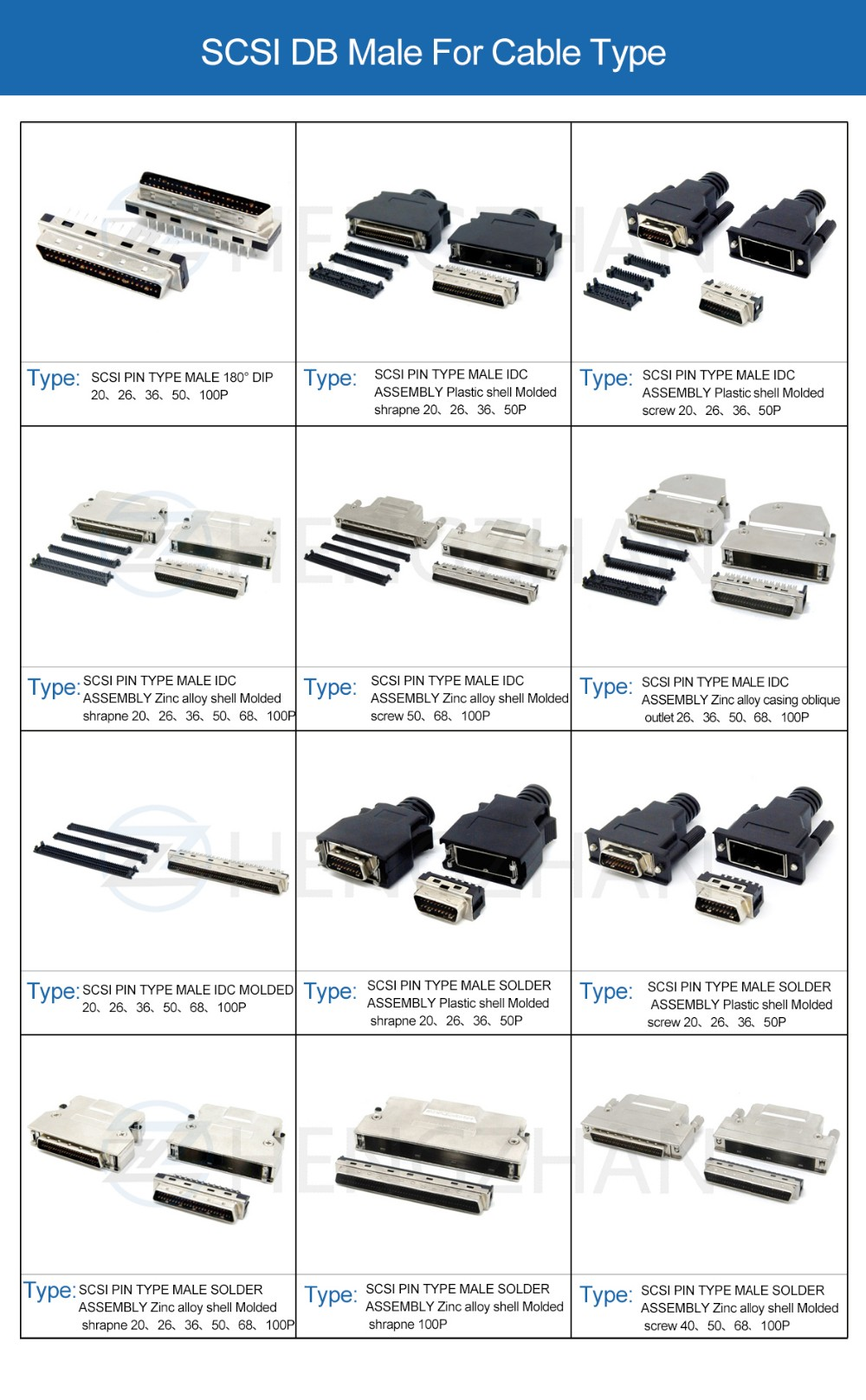 Схема подключения 10 дисков scsi