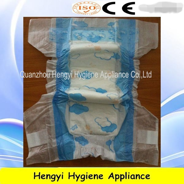 Disposable high quality and super absorbent Nice and Good Baby Diaper