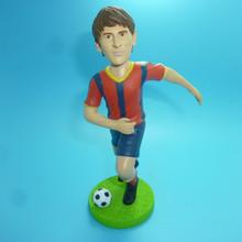 PVC Soccer player figure,Custom soccer player action figure,OEM plastic soccer player action figure toys