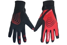 Unisex outdoor sports keep warm windproof running gloves for promotion