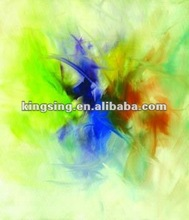 HT14282 abstract canvas painting calligraphy