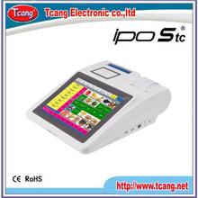 Design new arrival 12 inch sensitive pos machine for supermarket